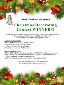 2015 Christmas winners poster
